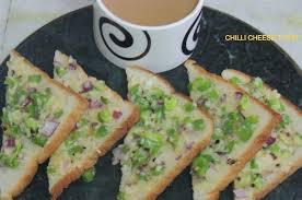 vidhas kitchen chili cheese toast