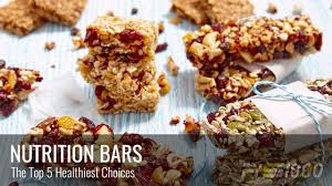 top nutrition bars top 5 healthiest nutrition bars ps1000 blog