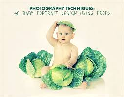 baby photo props photography techniques 40 baby portrait design using props