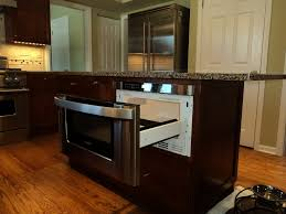 Microwave In Island In Kitchen Under Counter Microwave Drawer Home Appliances Decoration
