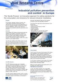 European Ippc Bureau European Commission European Communities 2007 Purpose The European Integrated