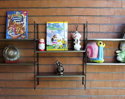Metal Book Shelves by Book Shelves Etsy