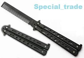 butterfly comb bench made balisong comb butterfly end 7 11 2018 11 15 pm
