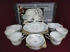 johann haviland blue garland 20 pc china service for 4 bavaria