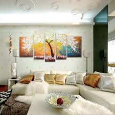 supply decorative hand painted oil painting rich tree thick oil