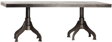 Glass Top Pedestal Dining Room Tables Fascinating Metal Dining Tables 1 Metal Wood Dining Table Uk 3938