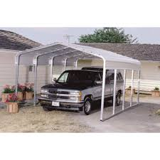 versatube one vehicle steel shelter u2014 20ft l x 12ft w x 7ft h