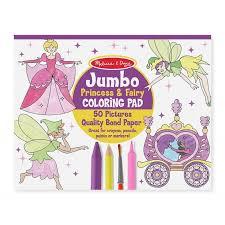 princess u0026 fairy coloring pages kid u0027s activity books 4263 melissa