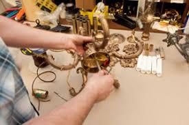 Rewiring An Old Chandelier Chandelier Rewire Nj