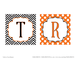printable halloween banner free halloween printables from parteprints catch my party