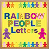 amazon com 4 inch die cut letters various colors and fonts