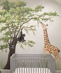 whimsical jungle nursery mural jungle nursery nursery murals