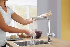 100 touch faucet kitchen kitchen single handle kitchen
