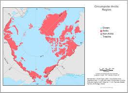 Anchorage Alaska Map by Arctic Geoecological Atlas Circumpolar Arctic Coastline And