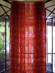 red acrylic crystal beaded curtain memories of a butterfly buy