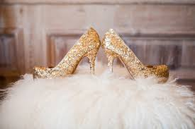 wedding shoes gold wedding shoes high heels worn by real brides inside weddings