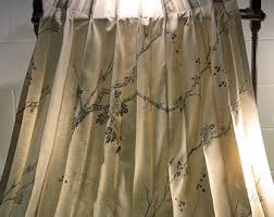Shabby Chic Balloon Curtains by Pinch Pleated Drapes Etsy