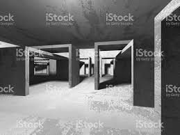 Interior Concrete Walls by Dark Basement Empty Room Interior Concrete Walls Stock Vector Art
