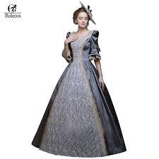 masquerade costumes rolecos women retro renaissance dresses