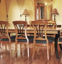biedermeier style walnut dining table u0026 eight chairs ebth