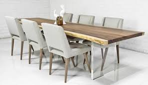 contemporary kitchen table chairs marvelous modern dining table shoise com contemporary designs