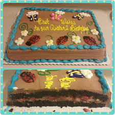 39 half sheet with marble cake fresh strawberry filling