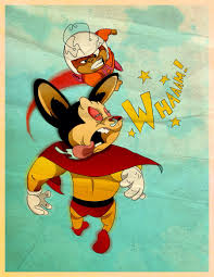 mighty mouse atom ant vs mighty mouse crossovers pinterest atom ant