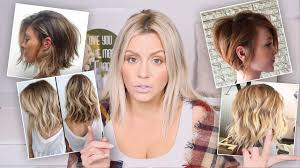 hair cut with a defined point in the back watch this before you cut your hair youtube