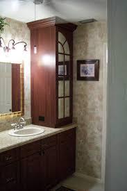 Bathroom Vanity With Linen Tower Bathroom Linen Tower Cabinet Home Design Ideas