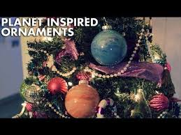 planet inspired ornaments
