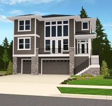 house plans with garage underneath 32 best tuck under garage houses images on pinterest