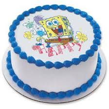 spongebob cake toppers hot wheels 7 5 edible cake topper cooking kits