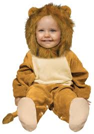 Baby Halloween Costumes Lion Infant Cuddly Lion Costume