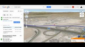 International Mall Map Google Map 3 D Driving Direction From Dubai Mall To Sharjah