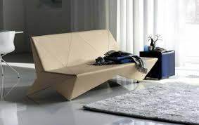 furniture sofa design idea with wooden leathered materials