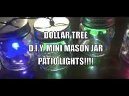 Diy Patio Lights Dollar Tree D I Y Mini Jar Patio Lights