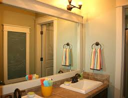 best 20 frame bathroom mirrors ideas on pinterest framed mirror hanging bathroom mirrors with frame a mirror molding picturesque