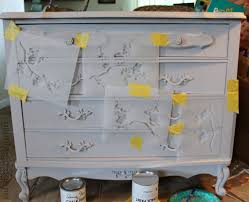 Update A Dresser Chalk Paint And Cherry Blossoms U2013 A Dresser Makeover In The