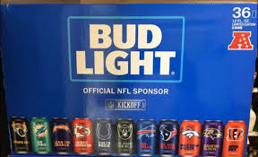 how much is a 36 pack of bud light bud light 36 packs nfl teams collectibles in chino ca offerup