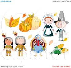 thanksgiving leaves clipart royalty free rf clipart illustration of a thanksgiving digital