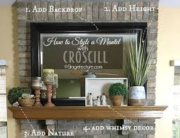 Design For Fireplace Mantle Decor Ideas 4 Easy Fireplace Mantel Decorating Ideas With Croscill