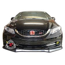 honda civic 13 13 15 honda civic 4dr sedan a style front lip polyurethane