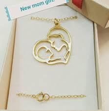 necklace for mothers gold pendant necklace gift 14k gold filled