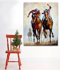 Home Decor Wall Paintings Online Get Cheap Oil Paintings Horses Aliexpress Com Alibaba Group