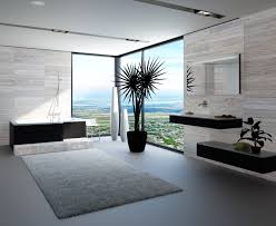 a carpeted bathroom making it work modernize