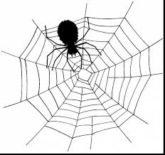 good spider coloring page alphabrainsz net