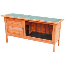 Shopko Patio Furniture by Large 4ft Wooden Single Rabbit Hutch Pet Indoor Outdoor House