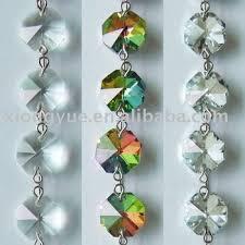 Chandelier Strands Fashion Chandelier Crystal Glass Octagon Beaded Strands For