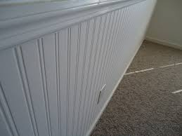 interior design chic wainscoting using wall doctor beadboard