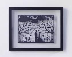 1st wedding anniversary gift for 1st anniversary gift etsy